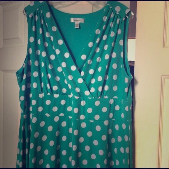 Polka Dot Dress Size 20